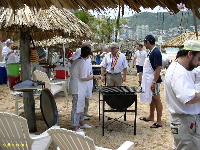 Vanilla, Saffron Imports Acapulco Paella Festival June 2004  037
