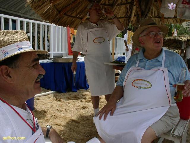 Vanilla, Saffron Imports Acapulco Paella Festival June 2004  049