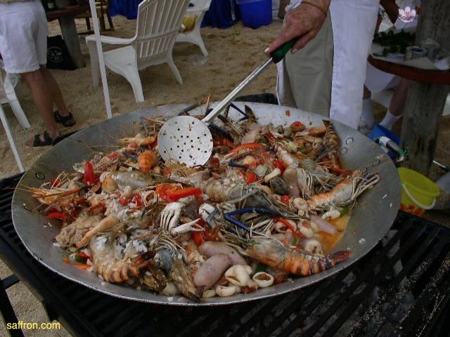 Vanilla, Saffron Imports Acapulco Paella Festival June 2004  054