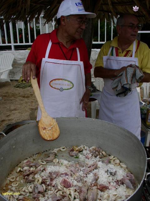 Vanilla, Saffron Imports Acapulco Paella Festival June 2004  057