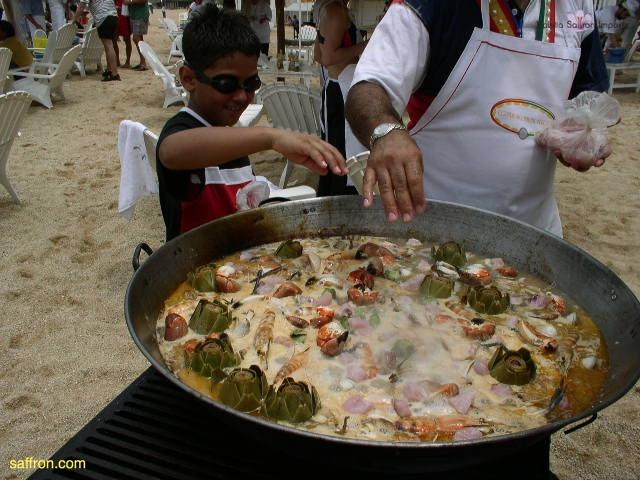 Vanilla, Saffron Imports Acapulco Paella Festival June 2004  066