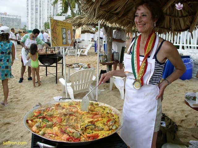 Vanilla, Saffron Imports Acapulco Paella Festival June 2004  070