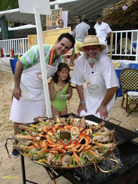 Vanilla, Saffron Imports Acapulco Paella Festival June 2004  073