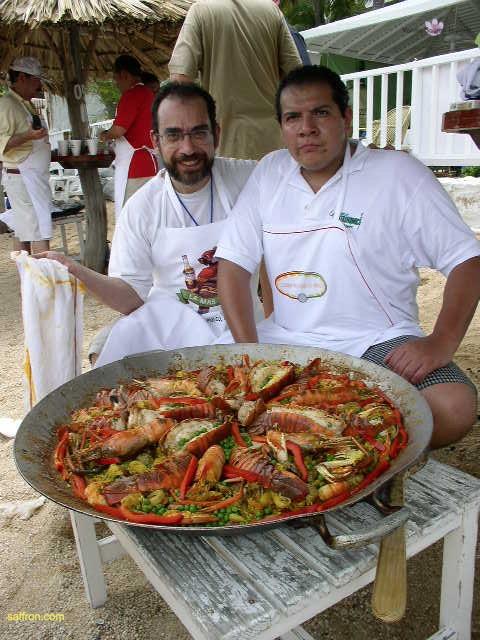 Vanilla, Saffron Imports Acapulco Paella Festival June 2004  076