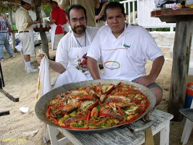 Vanilla, Saffron Imports Acapulco Paella Festival June 2004  077