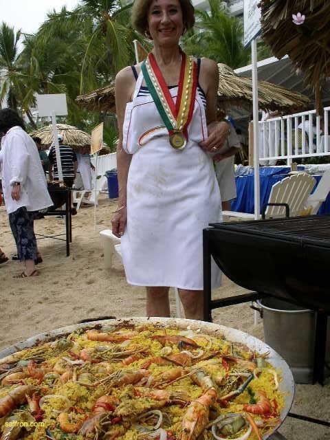 Vanilla, Saffron Imports Acapulco Paella Festival June 2004  090