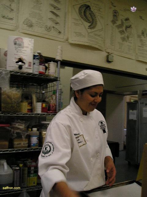 Vanilla, Saffron Imports Paella at California Culinary Academy%0A2005 015