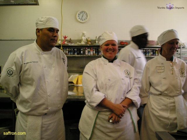 Vanilla, Saffron Imports Paella at California Culinary Academy%0A2005 016