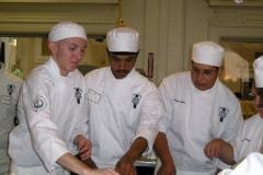 Vanilla, Saffron Imports Paella at California Culinary Academy%0A2005 024