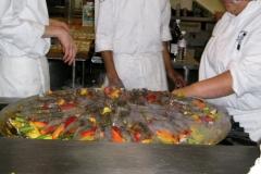 Vanilla, Saffron Imports Paella at California Culinary Academy%0A2005 025