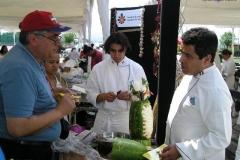 Vanilla, Saffron Imports Paella Freixenet Winery Queretaro 2005 007