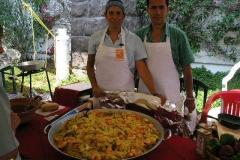 Vanilla, Saffron Imports Paella Freixenet Winery Queretaro 2005 049