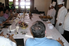 Vanilla, Saffron Imports Paella Freixenet Winery Queretaro 2005 069