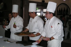 Vanilla, Saffron Imports Paella Freixenet Winery Queretaro 2005 085