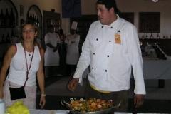 Vanilla, Saffron Imports Paella Freixenet Winery Queretaro 2005 1094