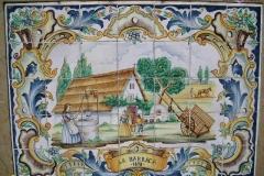 Vanilla, Saffron Imports Paella Tiles 546