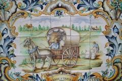 Vanilla, Saffron Imports Paella Tiles 553