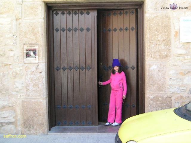 Vanilla, Saffron Imports Museo del Azafran, Monreal del Campo Teruel Spain 2004 668