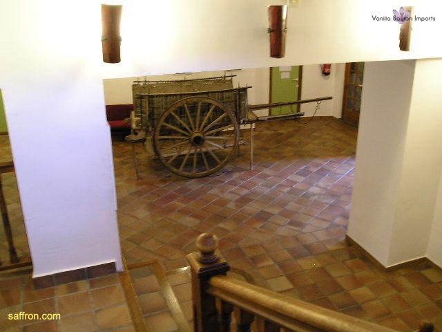 Vanilla, Saffron Imports Museo del Azafran, Monreal del Campo Teruel Spain 2004 679