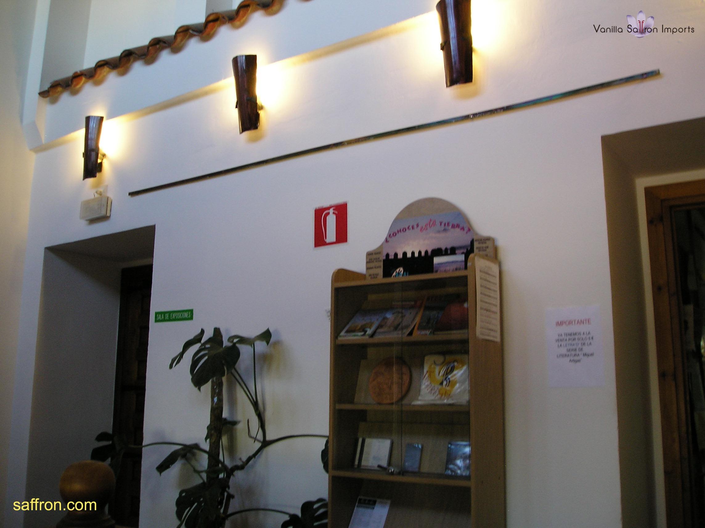 Vanilla, Saffron Imports Museo del Azafran, Monreal del Campo Teruel Spain 2004 682