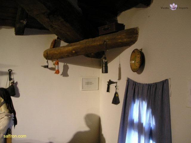 Vanilla, Saffron Imports Museo del Azafran, Monreal del Campo Teruel Spain 2004 748