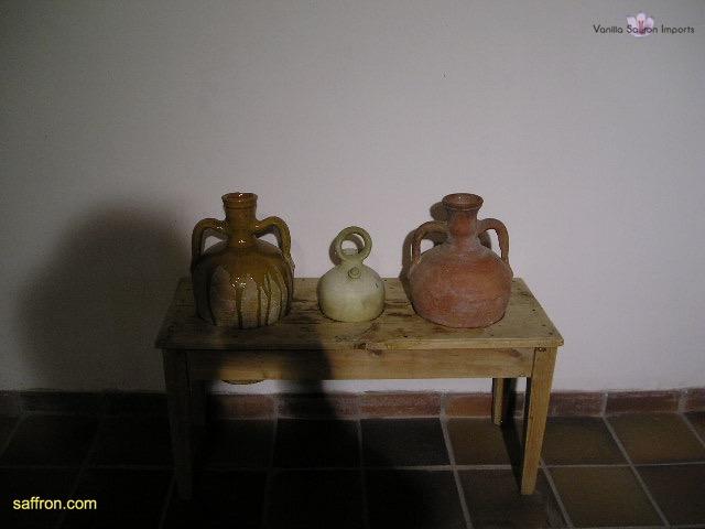 Vanilla, Saffron Imports Museo del Azafran, Monreal del Campo Teruel Spain 2004 753