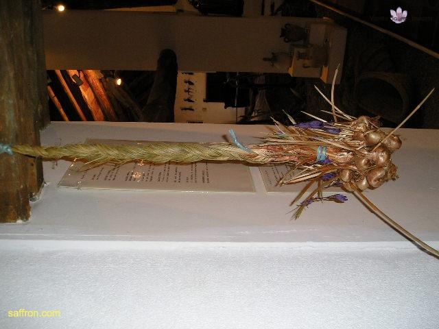 Vanilla, Saffron Imports Museo del Azafran, Monreal del Campo Teruel Spain 2004 761