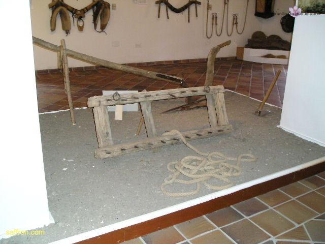 Vanilla, Saffron Imports Museo del Azafran, Monreal del Campo Teruel Spain 2004 771