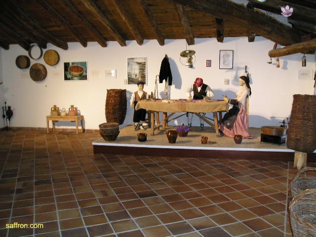 Vanilla, Saffron Imports Museo del Azafran, Monreal del Campo Teruel Spain 2004 797